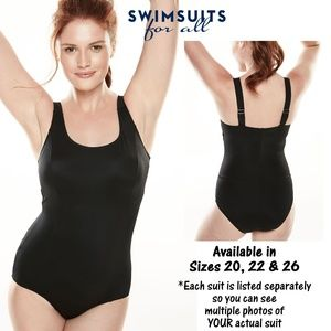 NWT in Package Swim 365 Black Maillot